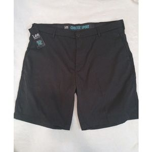 Lee Cooltex Sport Shorts Grey Big and Tall